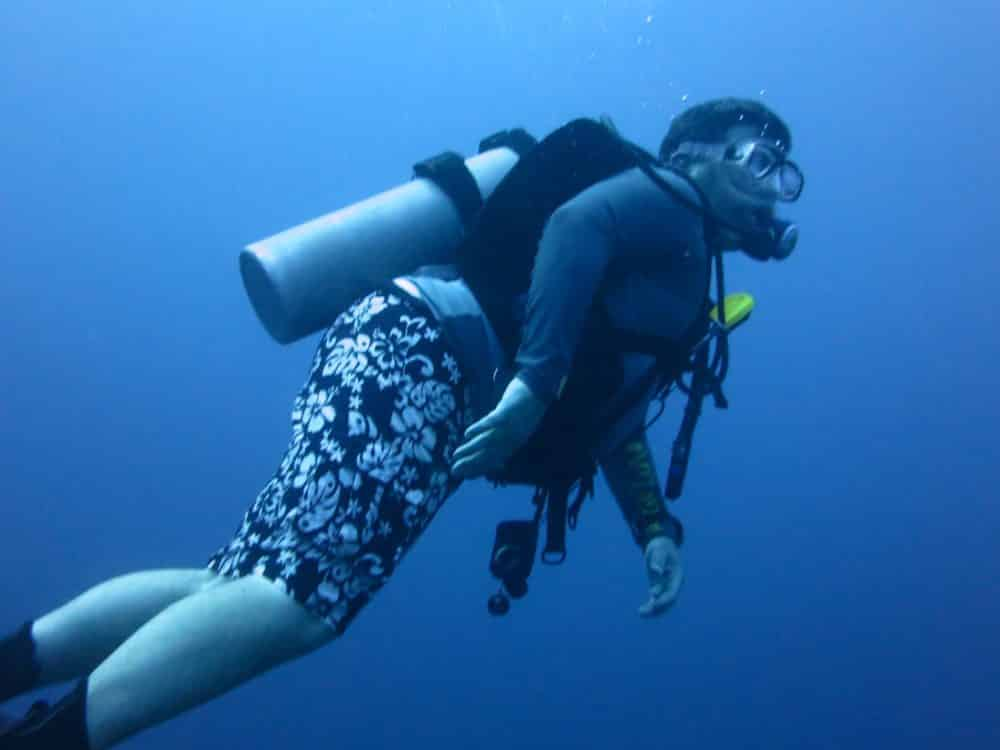 Diving In Huatulco, Mexico