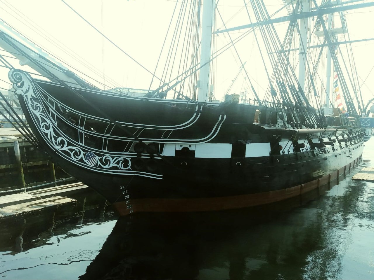 U.S.S. Constitution – Our Day At Old Ironsides
