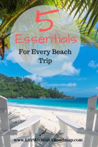 5 Essentials For A Beach Trip