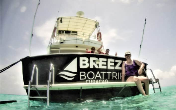A Day At Klein Curacao with Breeze Boat Trips