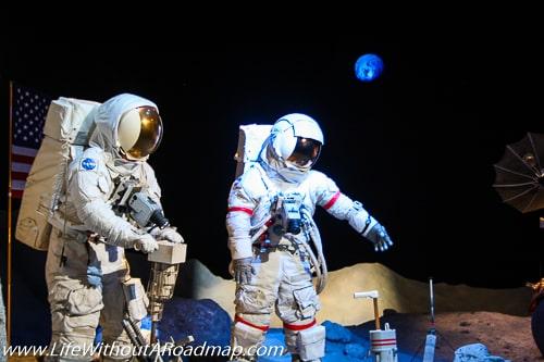 Apollo 11 man walks on moon