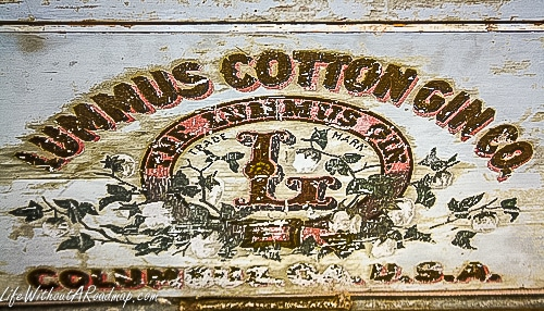 Lummus Cotton Gin manufactures stamp