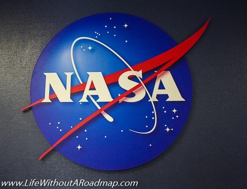 NASA sign