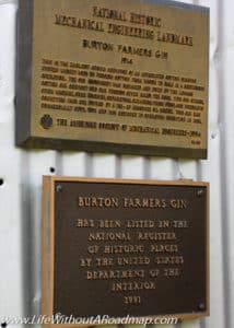 Burton Cotton Gin National Historical Place