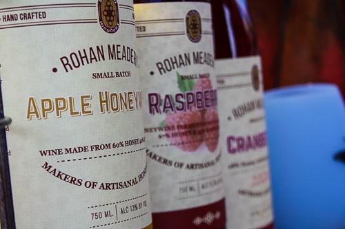 Rohan Meadery Wine Bottles