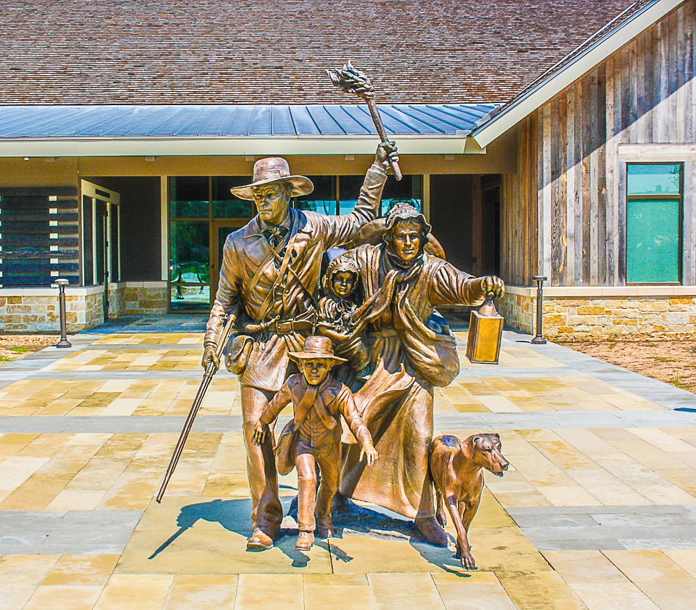 Texas Road Trip – San Felipe de Austin Museum