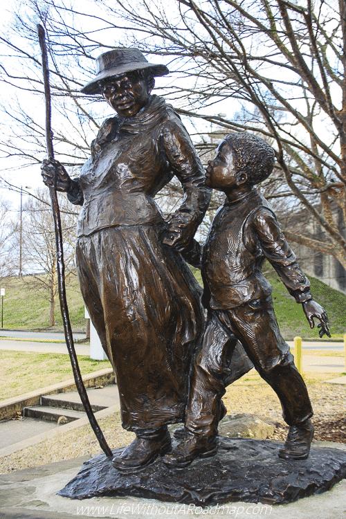 Harriett Tubman Statue in Little Rock, Arkansas