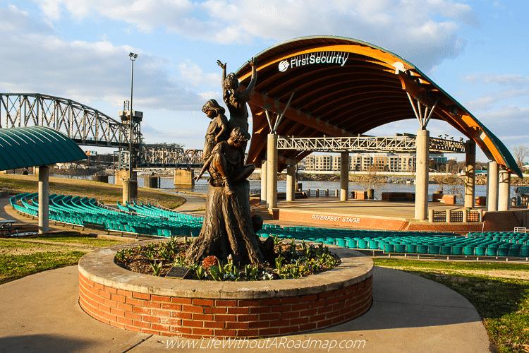 First Security Amphitheater in Little Rock, Arkansas